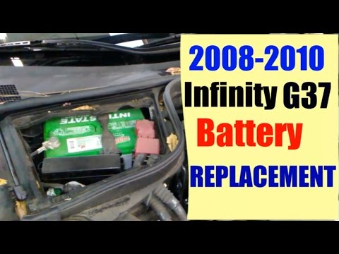 2008 2010 Infiniti G37 Battery Replacement Gearmo Auto