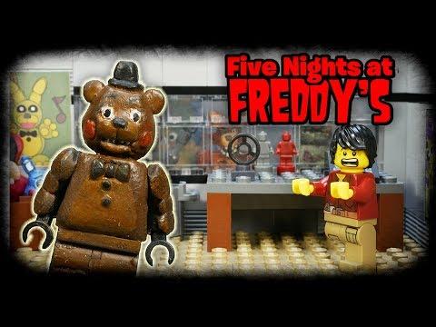 LEGO Мультфильм Five Nights At Freddy's / LEGO Stop Motion FNaF