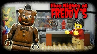 LEGO Мультфильм Five Nights at Freddy's / LEGO Stop motion FNaF