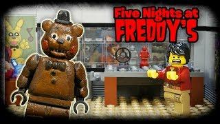 Скачать LEGO Мультфильм Five Nights At Freddy S LEGO Stop Motion FNaF