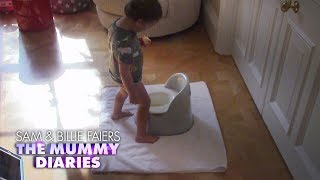 Little Paul Uses the Potty for the First Time | The Mummy Diaries