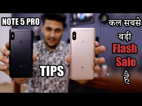 Redmi Note 5 Pro Biggest Flash Sale EVER! – Gold VS Black, 6GB VS 4GB