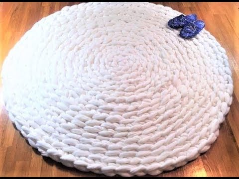 How To Hand Crochet A Circular Rug