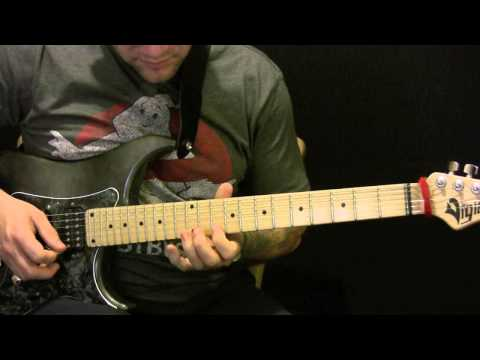 How To Play Scatterbrain By Radiohead On Guitar