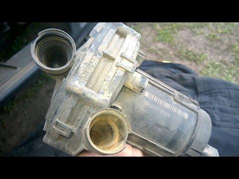 Как снять насос вторичного воздуха СВВ Ауди А6 C5, А4, Фольксваген Passat B5, Шкода