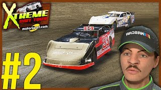 NASCAR OVERTIME AT ELDORA! | NASCAR Heat 3 Career Mode Ep. 2