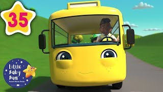 Learning Nursery Rhymes for Kids | Every Wheels On The Bus Song +More | NEW Little Baby Bum