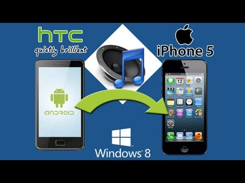 HTC to iPhone 5 [Music Transfer]: Best Way to Transfer All HTC Music Files to iPhone 5 Easily
