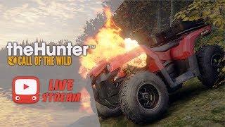 theHunter: Call of the Wild - Обзор КВАДРОЦИКЛА ATV SABER 4x4