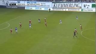 Hansa Rostock - Unterhaching 0:1 [HD] Alle Tore&Highlights 24.08.2013