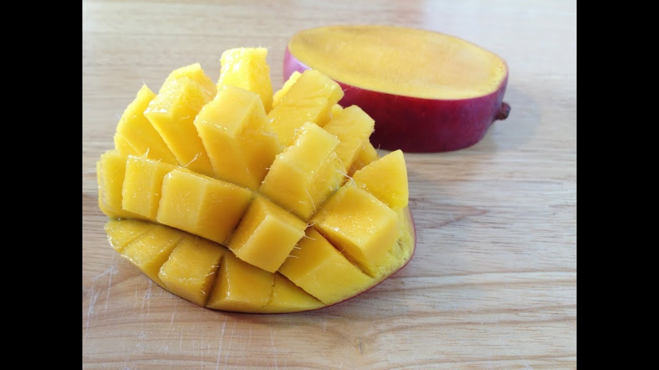 How to cut a mango easy way youtube ccuart Gallery