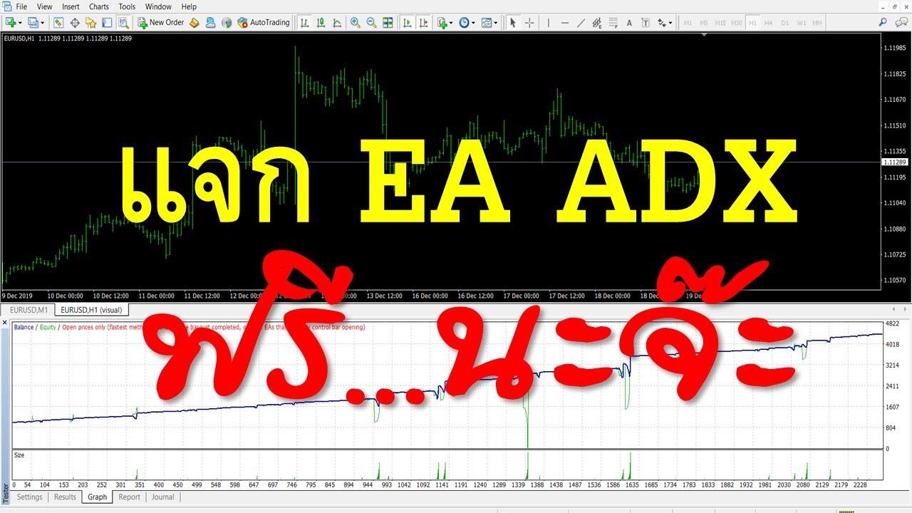 แจก EA ADX  ฟรี กำไรดี กว่า 40% ทีเดียว| Forex iCan