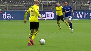 Julian Brandt vs Schalke 04 HD (16/5/2020)   Like He Never Left