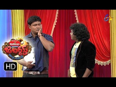 Bullet Bhaskar Sunami Sudhakar Performance | Jabardasth | 3rd November 2016 | ETV  Telugu