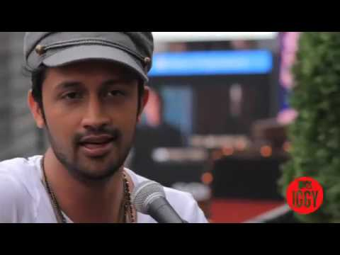 Atif Aslam - Pehli Nazar Main(O Jane Ja)-Live Acoustic version on Roof top for Mtv Iggy.
