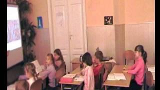 Фильм Відкритий урок з української мови у 2 класі