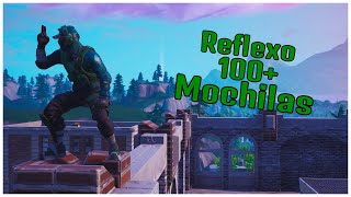 SHOWING REFLEX SKIN 100 - BACKPACKS FORTNITE (FORTNITE)