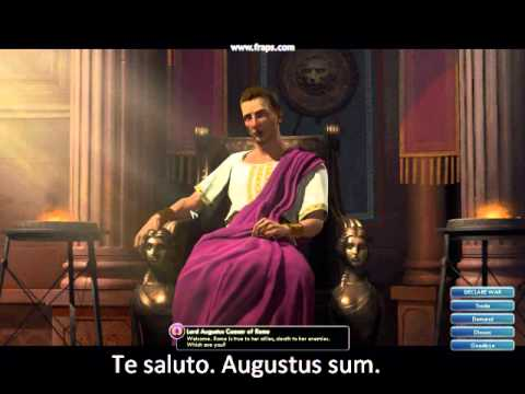 Latin in Civilization V