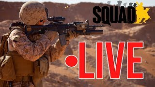 Milsim Immershunz | LIVE: Squad Game Play (LIVE GAMING)