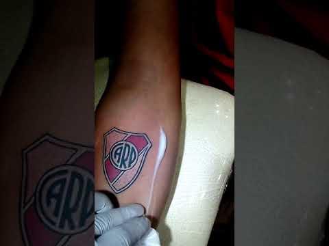 Tatuaje Escudo River Plate
