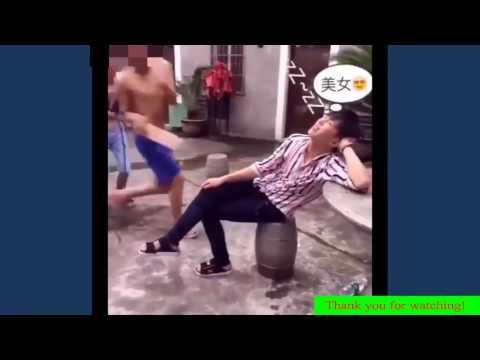 คลิปตลกๆ คลิปฮาๆ คลิปแกล้งคน คลิปเฟล  ผู้ชายอันตรายในจีน 2016