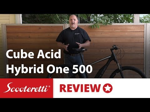 Cube Acid Hybrid One 500 Review - Best Priced Bosch Electric Bike In Canada & USA