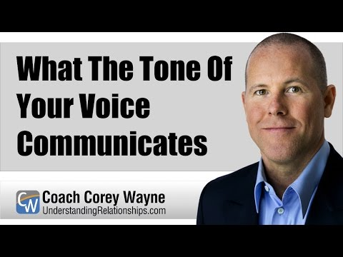 What The Tone Of Your Voice Communicates