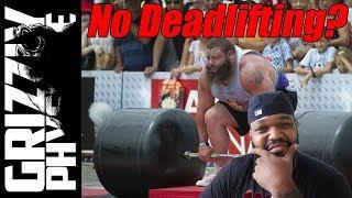 """Strongman Robert Oberst says """"Do Not Deadlift!"""""""