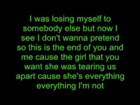 The Veronicas Everything I'm Not Lyrics
