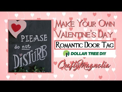 Romantic DIY Home Decor  | Valentine's Day 2021 Dollar Tree