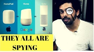 Smart Speakers a Privacy Threat | Google home, Apple Home pod, Amazon Echo