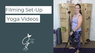 My At Home Yoga Setup