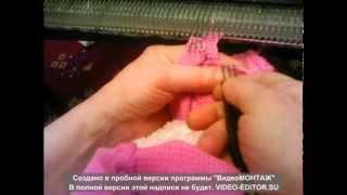 Вяжем на вязальной машине Нева 5