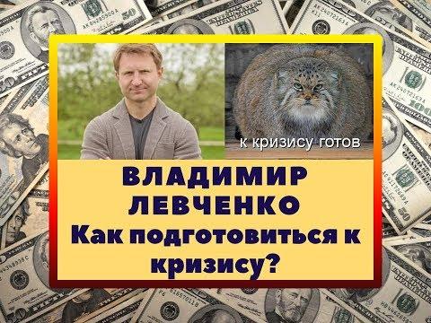Владимир Левченко как подготовиться к кризису