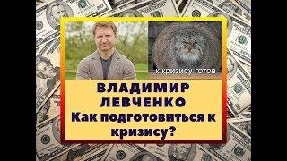 Владимир Левченко: как подготовиться к кризису