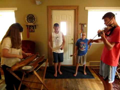 Practice with my Grandsons!