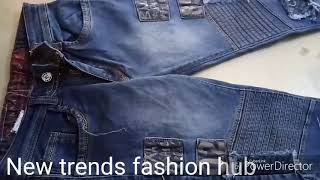Blue rugged jeans!! Best quality rugged jeans| Blue men