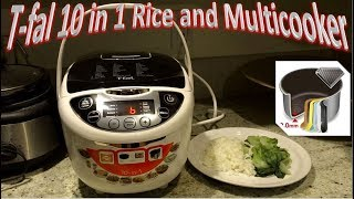 T-fal 10 in 1 Rice and Multicooker | Model RK705851