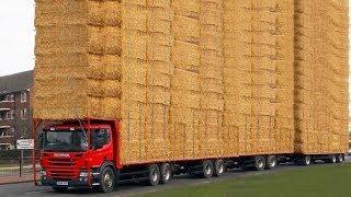 10 Landwirtschaftliche LKW, die auf der Welt EINZIGARTIG sind!
