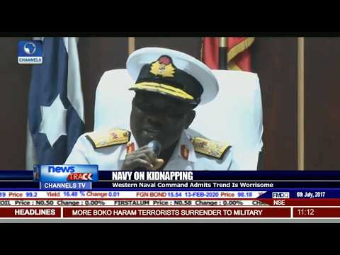 Western Naval Command Admits Worrisome Kidnapping Trend