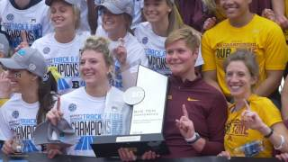 2016 Gopher Women's Sports Highlights: National Girls and Women in Sports Day