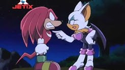 Sonic X - Knuckles and Rouge Moment (Deutsch/German)