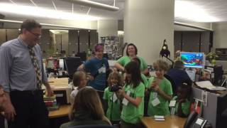 DMA 2015 Summer Camp at Milwaukee Journal Sentinel