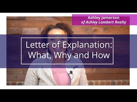 Letter Of Explanation: What, Why And How | How To Buy A House #SoldByAshley #CreditRepair