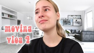 CRYING 😭 & MOVING IN TO MY NEW PLACE!!! 🪑 | MOVING VLOG 4