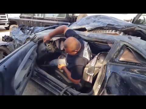 Смотреть Авария Шевроле Камаро ( Chevrolet Camaro)  драйв,  авария на скорости 310 км/ч. онлайн