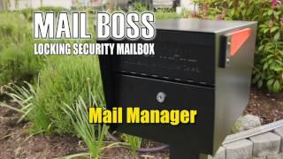 Mail Manager Locking Security Mailbox Video By Epoch Design Mail Boss
