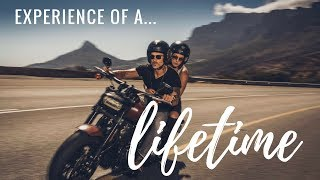 MODELING ON A HARLEY IN SOUTH AFRICA – My First Harley Ride!