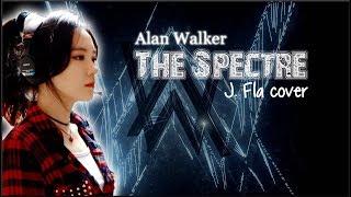 Video Lyrics: Alan Walker - The Spectre (J. Fla cover) download MP3, 3GP, MP4, WEBM, AVI, FLV Maret 2018