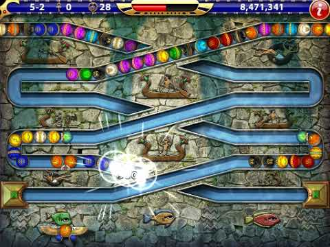 Luxor HD - Challenge of Horus Mode Stage 5-2 Navigating the Cataracts |